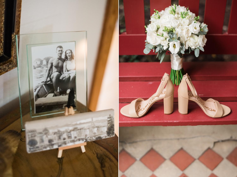 beige bridal shoes