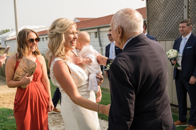 Covid Annapolis Maritime museum mini wedding ceremony