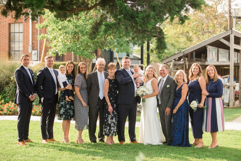 Annapolis Maritime museum mini wedding family photos