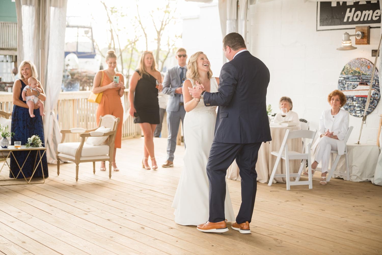 covid micro wedding celebration in Annapolis