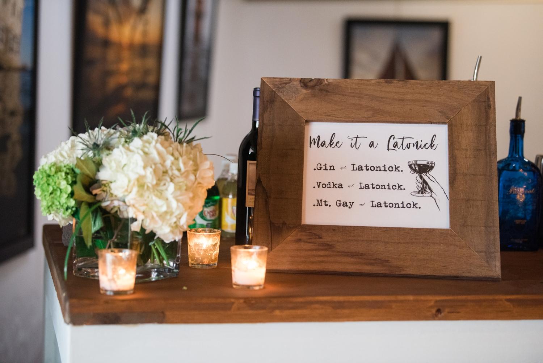 Annapolis covid micro wedding decor