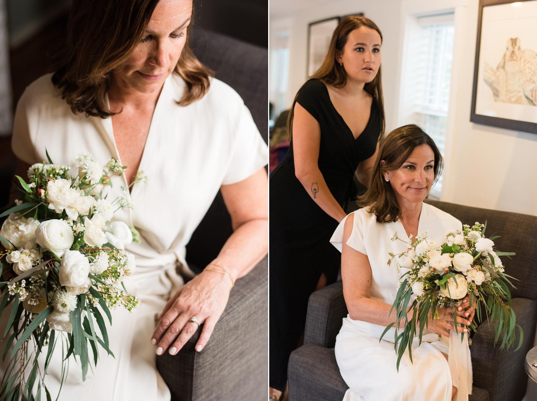 Pomona Floral - Annapolis Maritime museum micro wedding elopement