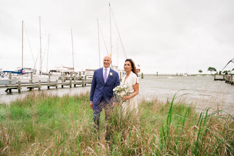 Annapolis Maritime museum micro wedding elopement