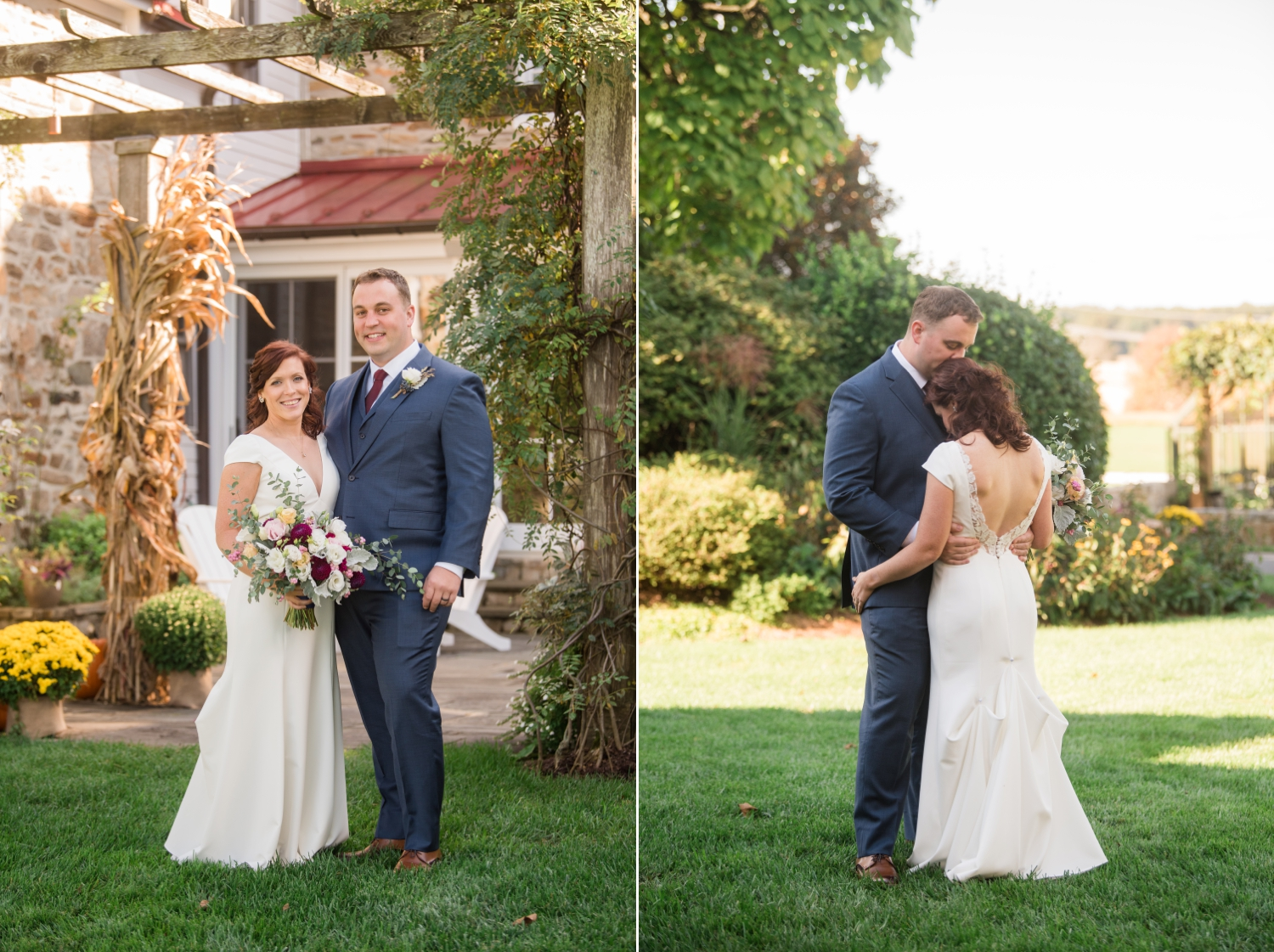 Tusculum Farm micro wedding couple photos