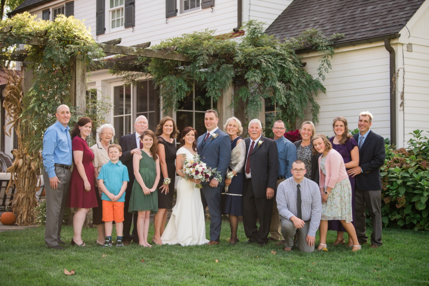 Tusculum Farm micro wedding family photos
