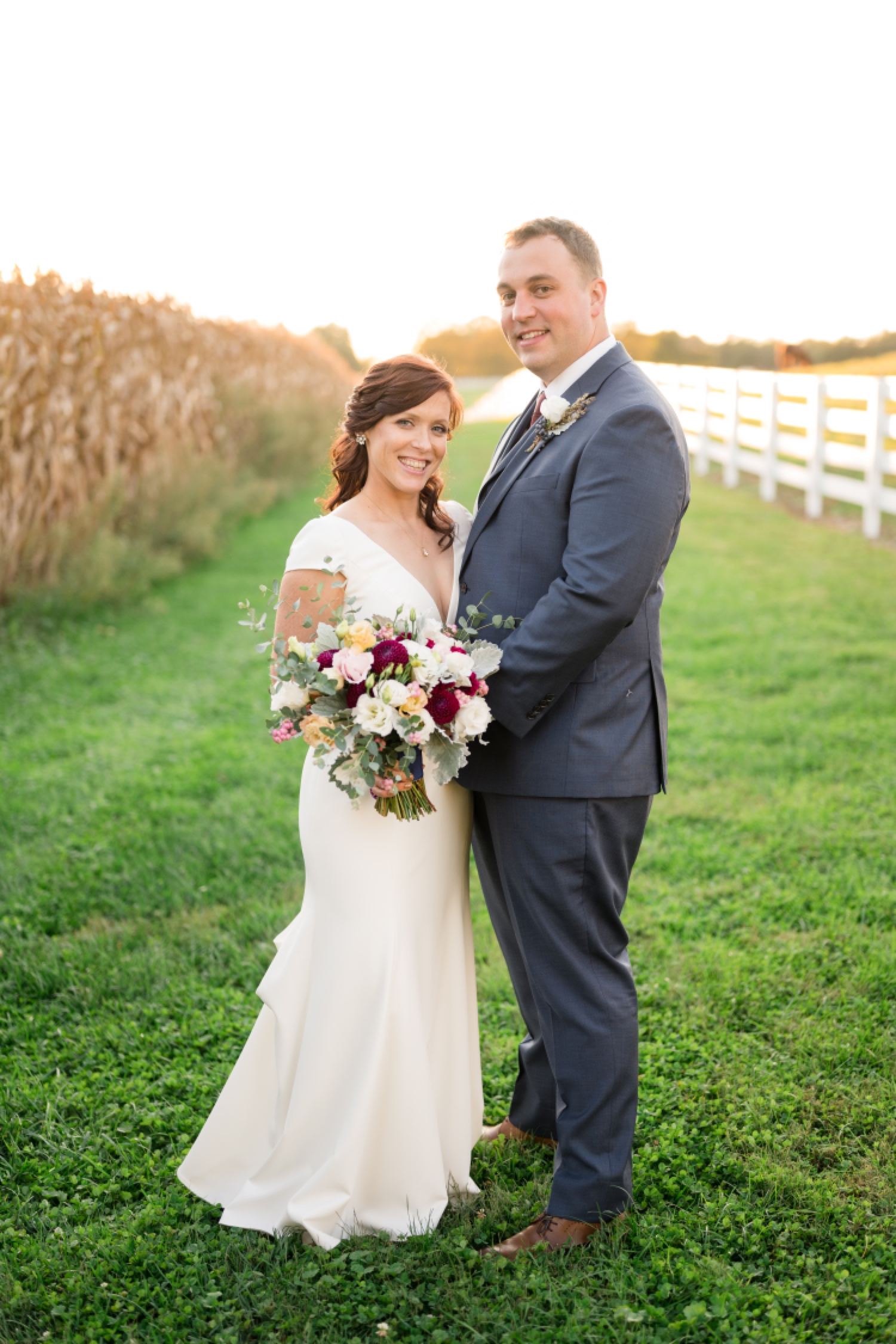 Tusculum Farm fall wedding photos