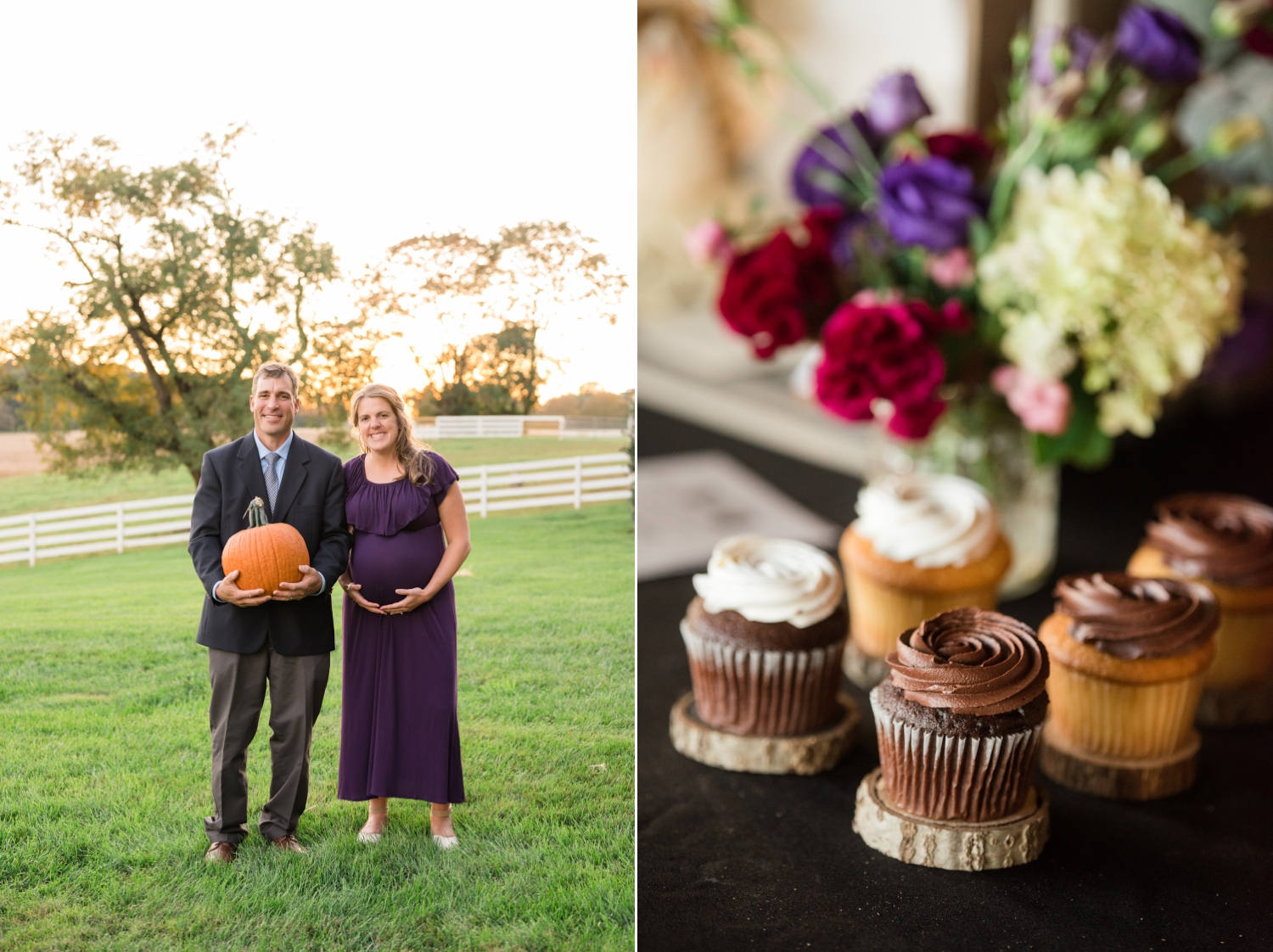 Tusculum Farm fall wedding outdoor reception