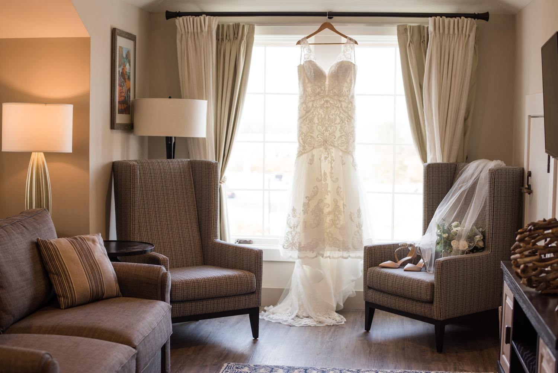 Eastern shore micro wedding dress