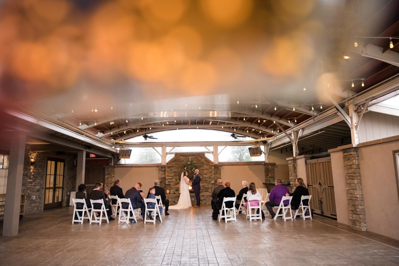The Inn at the Beach Club micro wedding ceremony