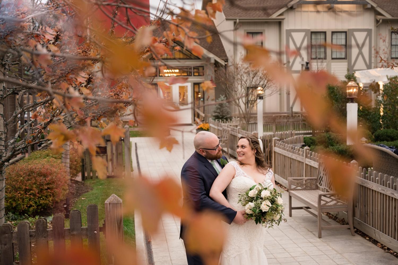 Eastern Shore micro wedding couple portraits