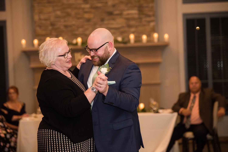 micro wedding mother son dance