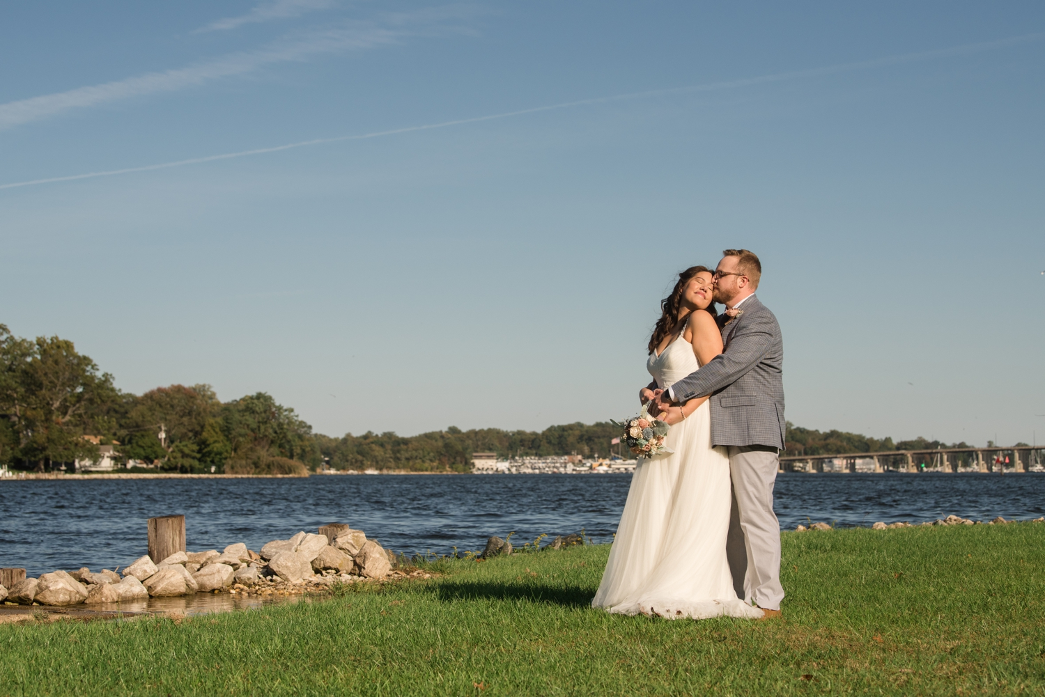Michael's on the South River Elopement first look