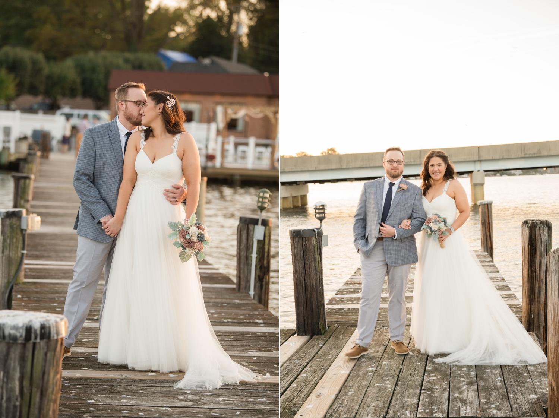 Annapolis Micro wedding couple photos