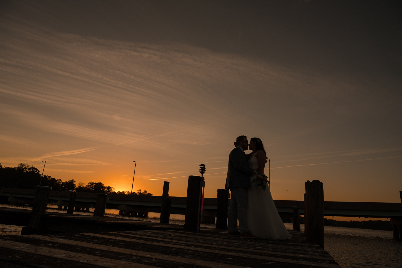 waterfront micro wedding