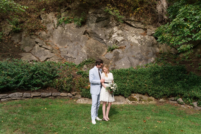 Cockeysville Micro Wedding in the woods
