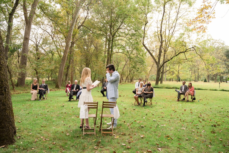 Baltimore Micro wedding ceremony