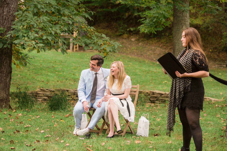 Cockeysville Baltimore Micro wedding ceremony