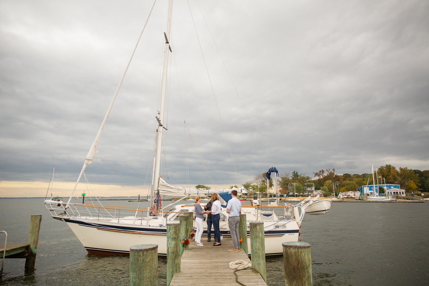 Eloping on your sailboat in Annapolis
