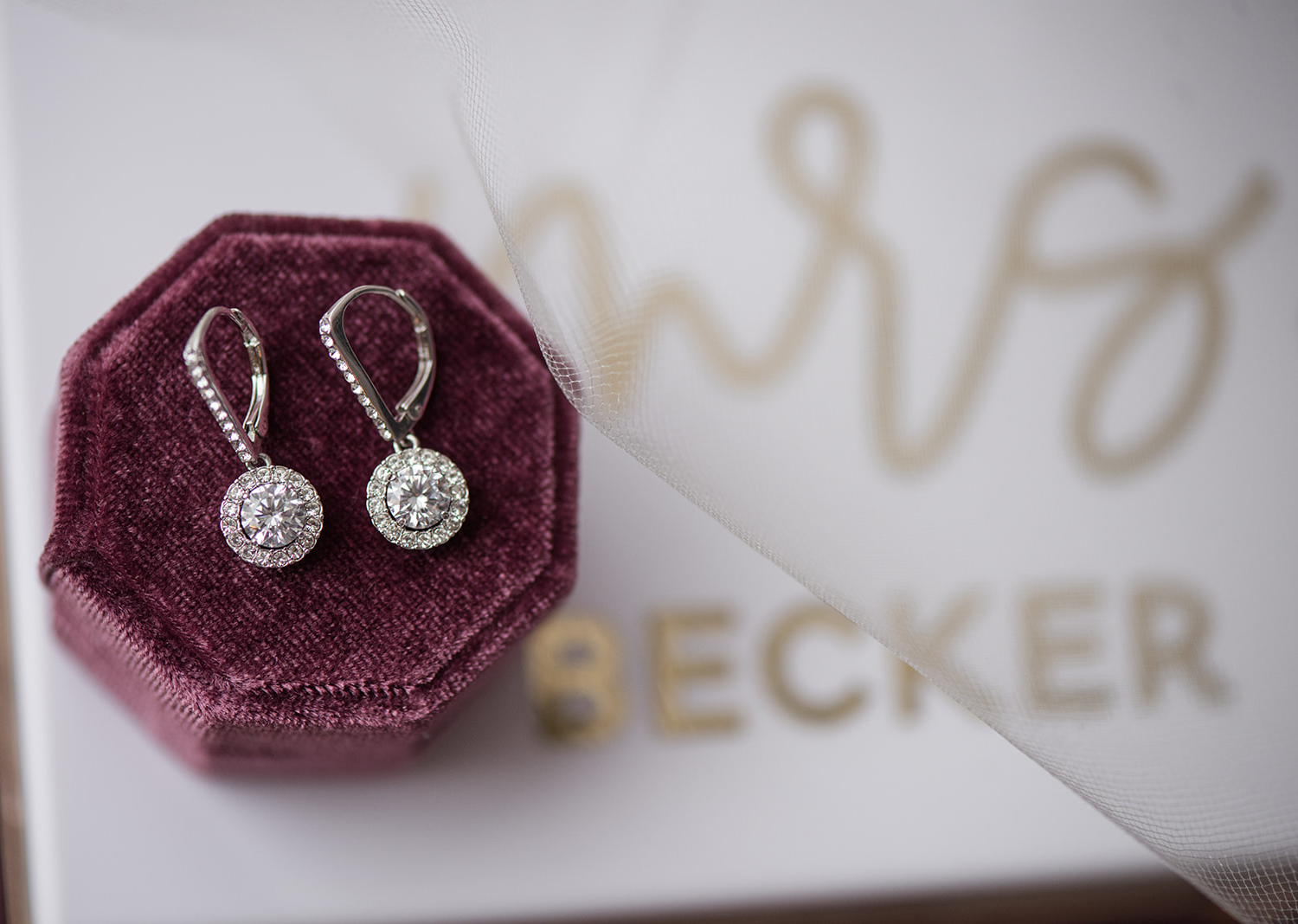 wedding earrings and bridal accessories