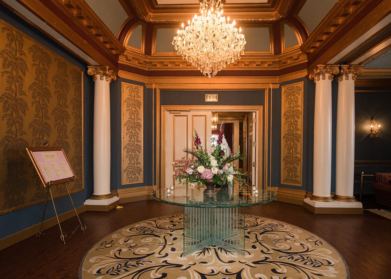 The Belvedere Hotel Wedding reception decorations
