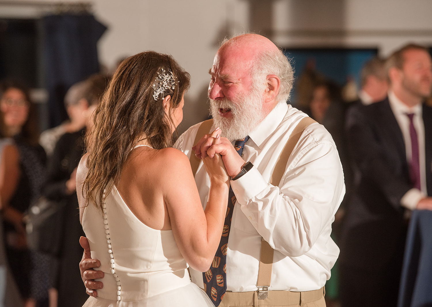 bride dancing the father and daughter dance