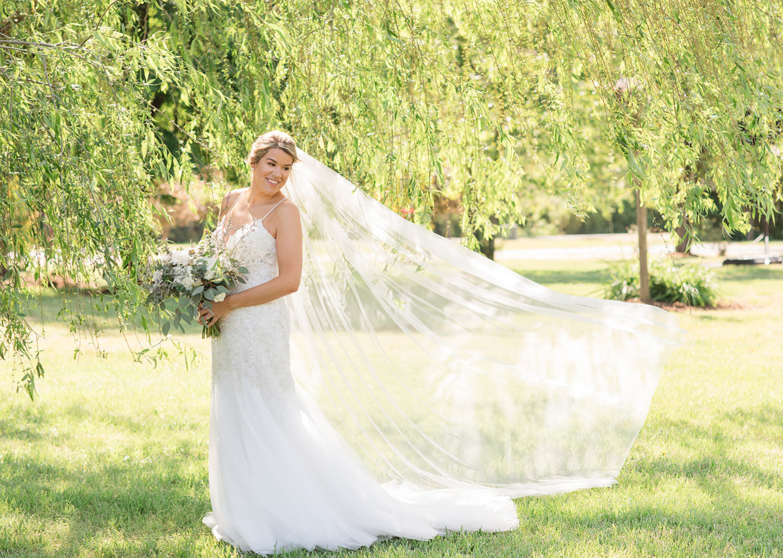 bridal outdoor portraits