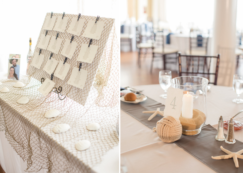 wedding reception decoration details