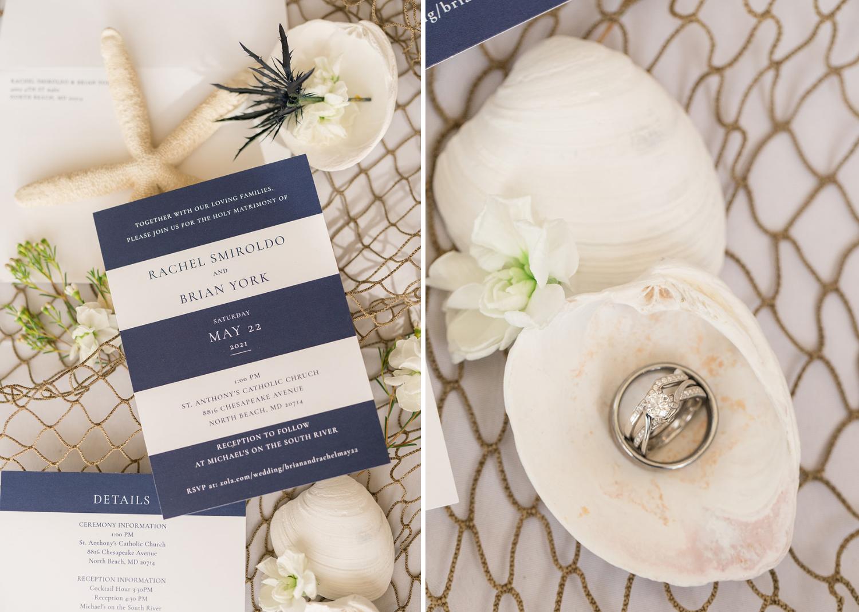 wedding stationery details